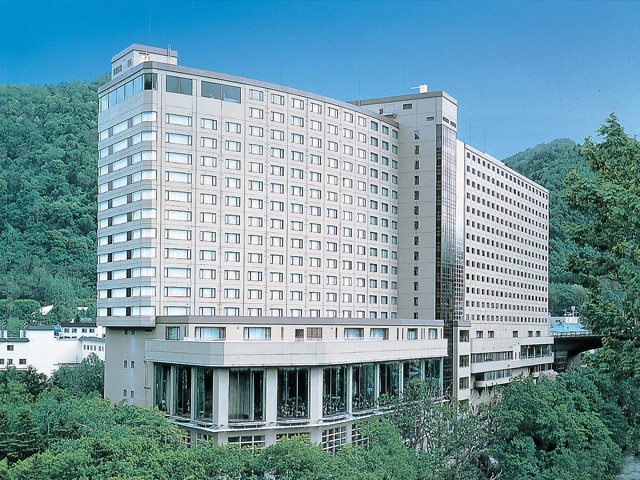 定山渓ビューホテル 外観