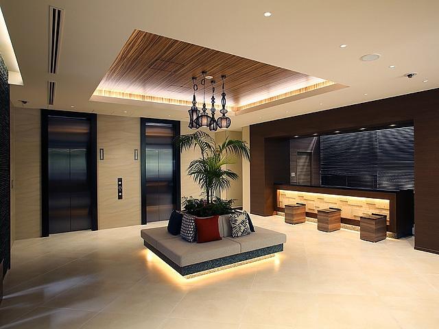 アルモントホテル那覇県庁前 フロント