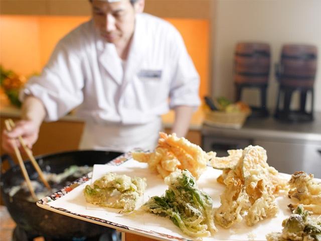 湯元ニセコプリンスホテルひらふ亭 天ぷらコーナー