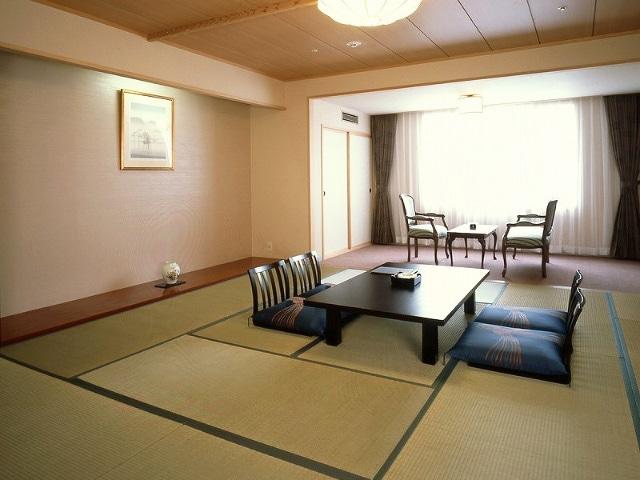 定山渓万世閣ホテルミリオーネ 和室一例
