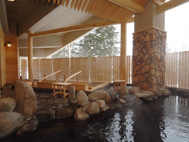 ラビスタ大雪山 大浴場もむにの湯