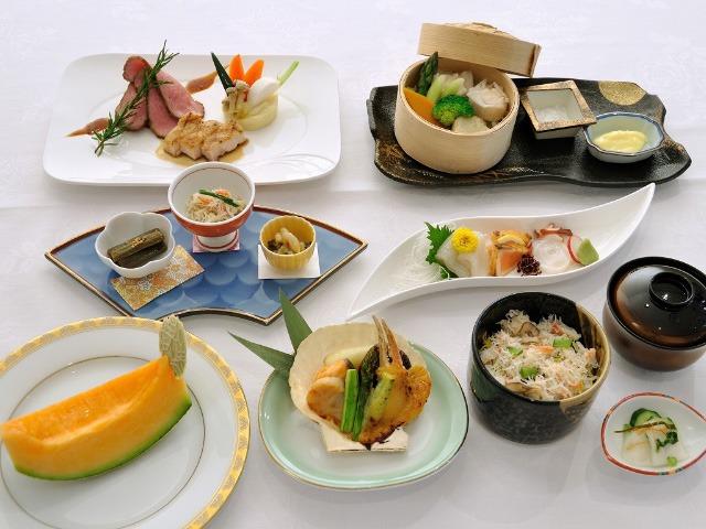 ホテルシューパロ お料理メニュー一例