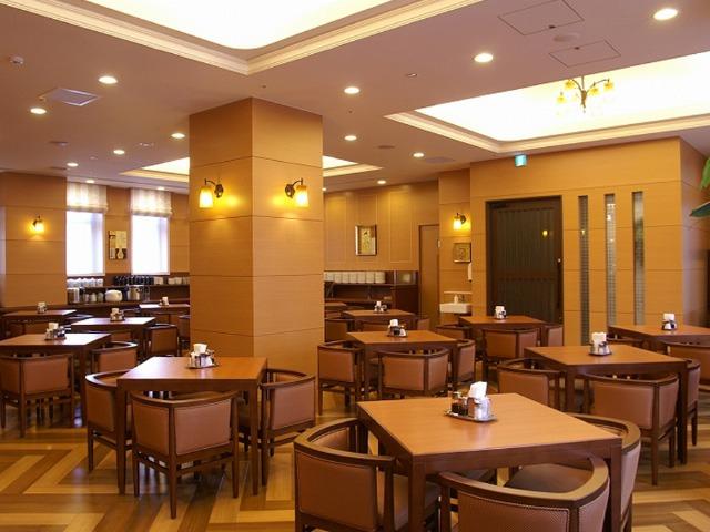 ルートイングランティア函館五稜郭 朝食レストラン 花茶屋