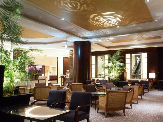 沖縄ハーバービューホテル ロビー