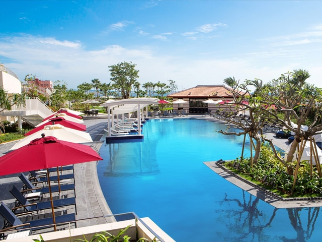 ヒルトン沖縄北谷リゾート プール