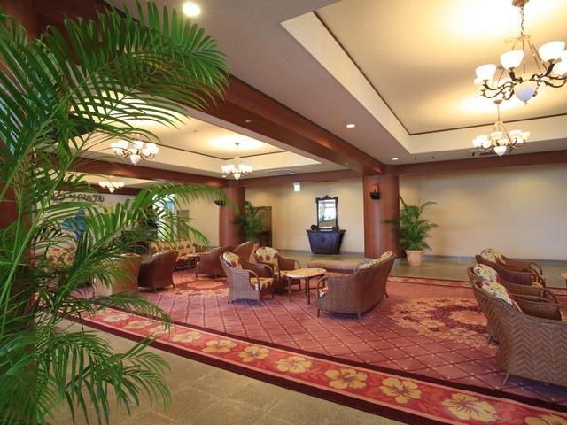 石垣シーサイドホテル ロビー