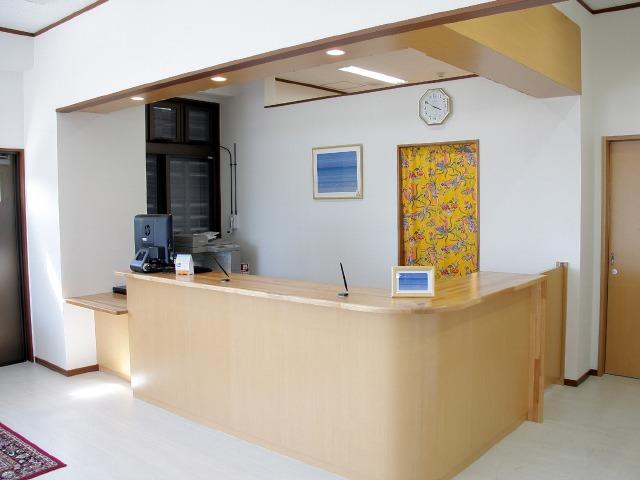 ホテルチューリップ石垣島 フロント