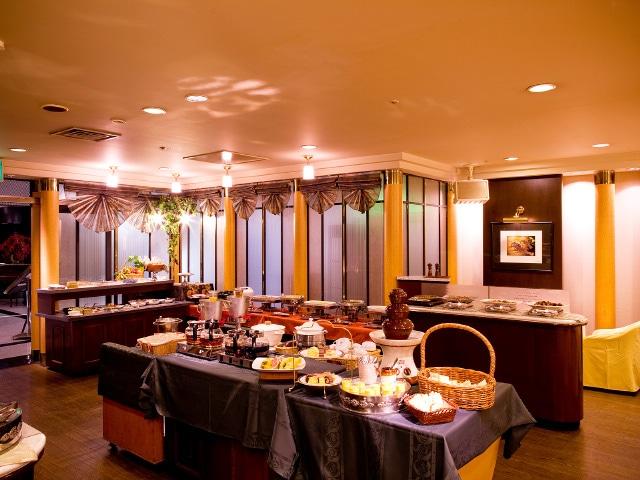 ホテルメリージュ 朝食バイキング「レストラン・アバ」