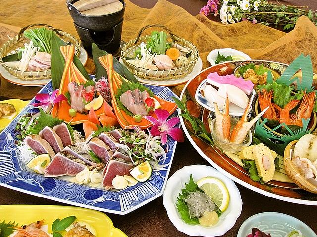松栄 第二別館 夕食イメージ