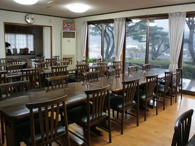 民宿 やくすぎ荘 食堂