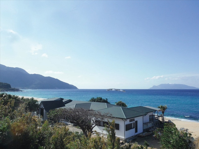 海亀がくる宿 マリンブルー屋久島 外観