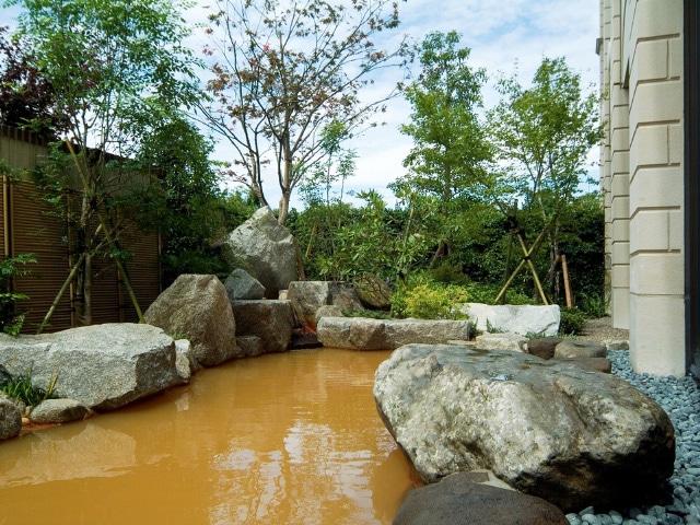 ホテルオークラJRハウステンボス 天然温泉「琴乃湯」露天風呂