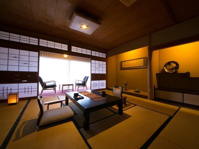 指宿温泉 いぶすき秀水園 和室 12.5畳