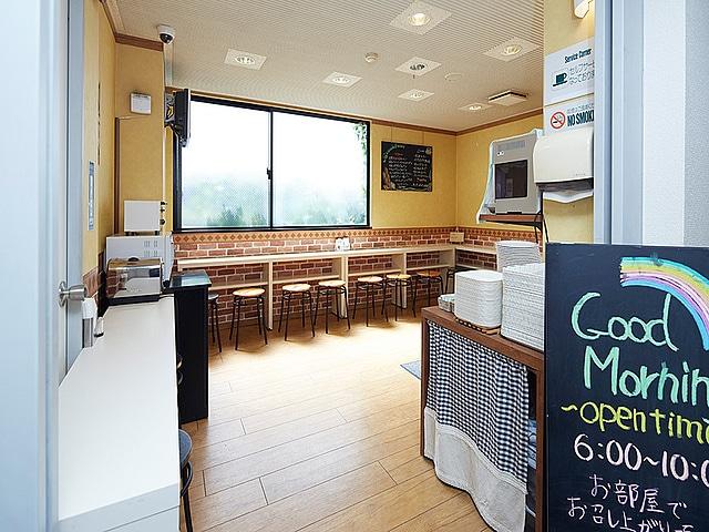 【後楽園】ホテルウィングインターナショナル後楽園 朝食コーナー
