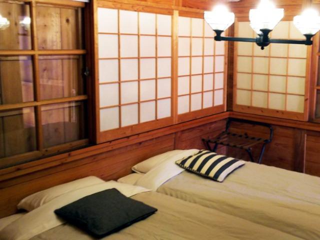 伝統的民家 シビランカ■ 寝室