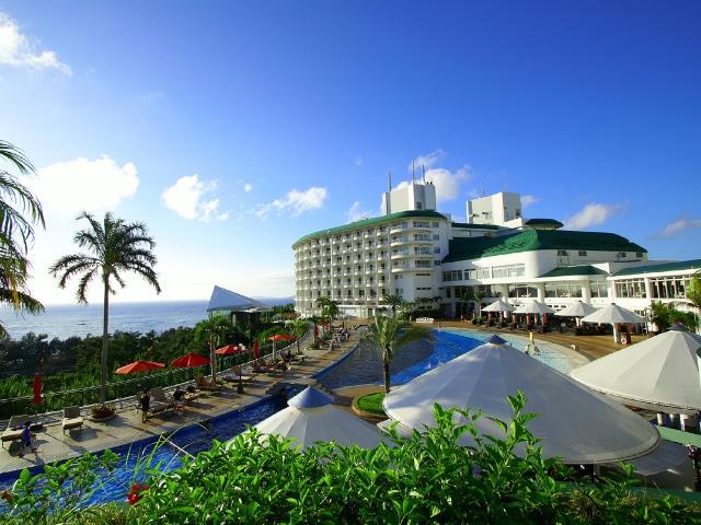沖縄かりゆしビーチリゾート・オーシャンスパ 外観