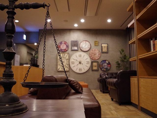 ホテルリリーフ札幌すすきの ロビー