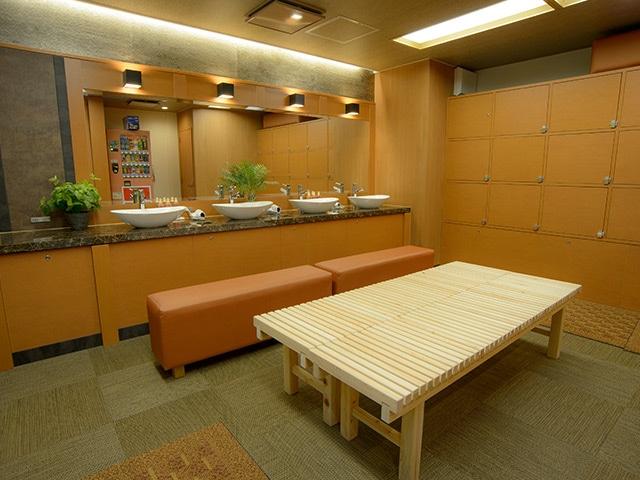 ホテルリリーフ札幌すすきの 脱衣場