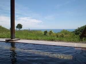 虎杖浜温泉 ホテルいずみ 露天風呂から眺め