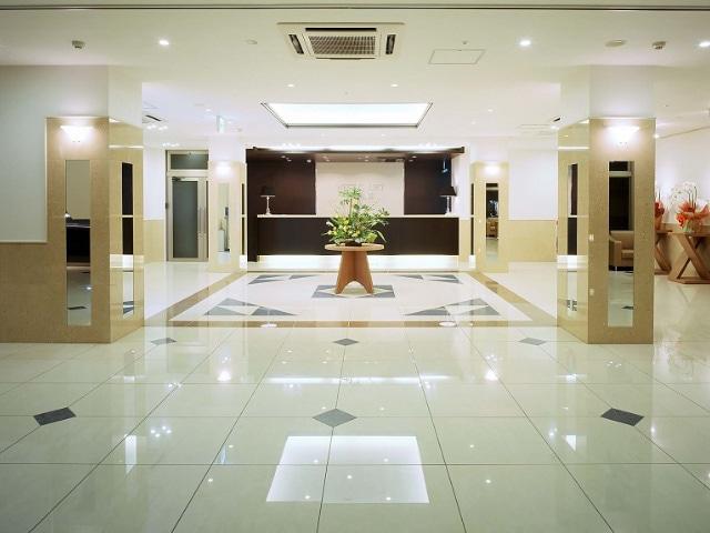 ホテルウエストコート奄美 ロビー