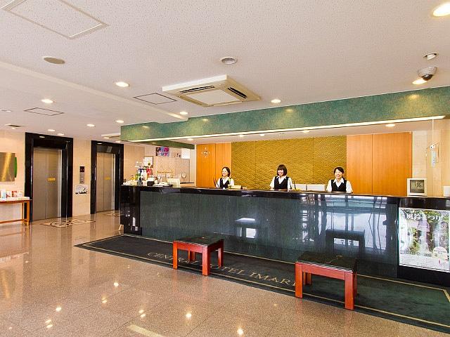 セントラルホテル伊万里 フロント
