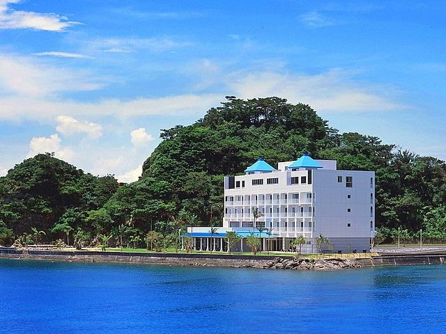 奄美山羊島ホテル 外観1