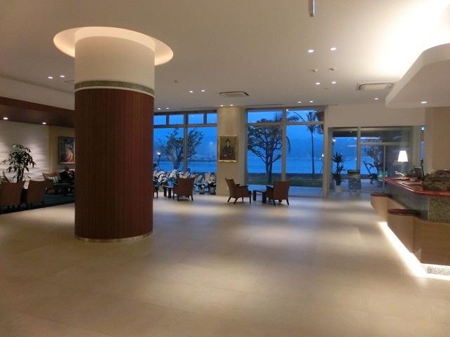 奄美山羊島ホテル ロビー