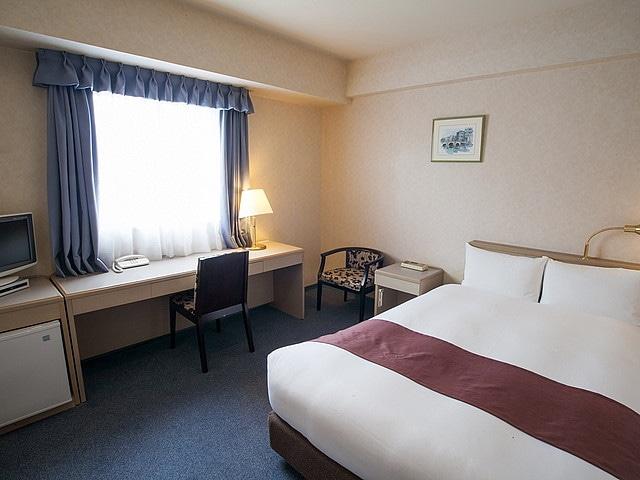 天然温泉八百治の湯 八百治博多ホテル スタンダードダブル 19㎡
