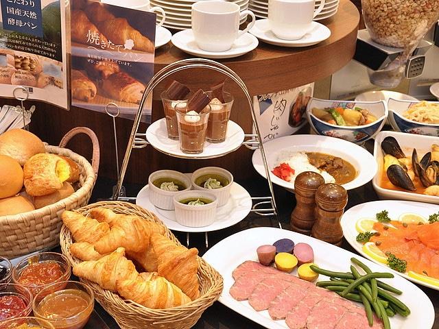 神戸トアロードホテル山楽 朝食ブッフェイメージ