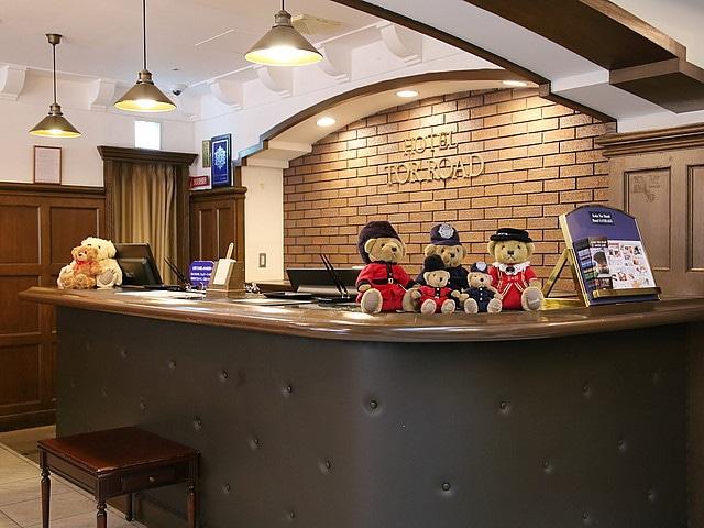 神戸トアロードホテル山楽 フロント