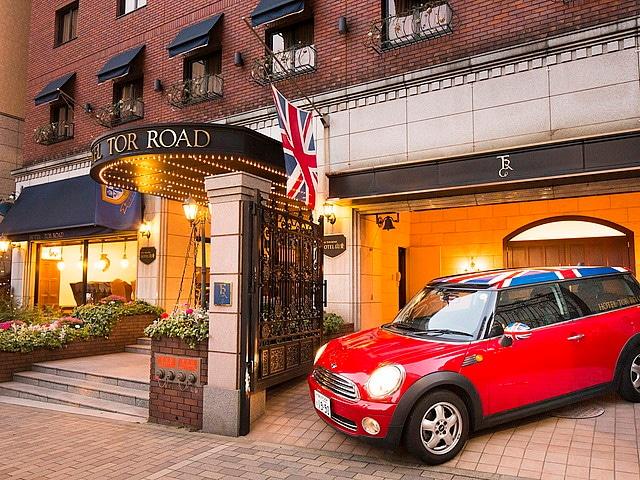 神戸トアロードホテル山楽 外観