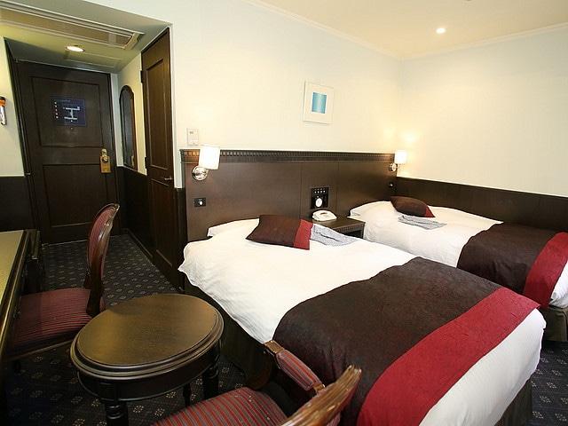 神戸トアロードホテル山楽 ツイン 22㎡(一例)