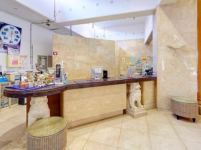 リゾートホテルベルパライソ フロント