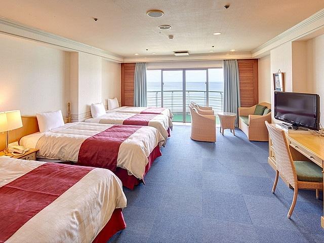 リゾートホテルベルパライソ 客室一例