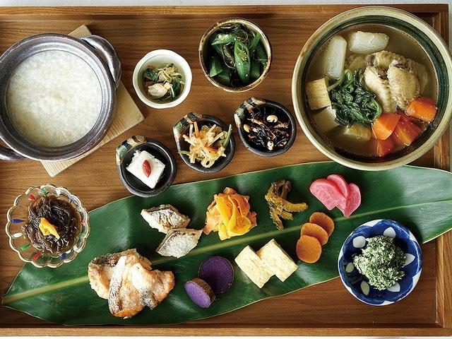 コスタビスタ沖縄ホテル&スパ 朝食ぬちぐすい和食イメージ