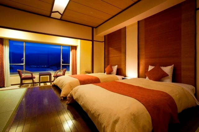 小豆島温泉 ベイリゾートホテル小豆島 モダンツイン 40㎡