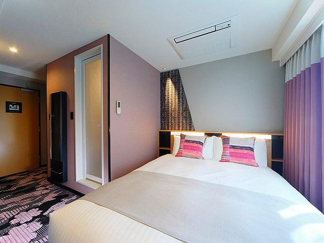 京都タワーホテルアネックス セミダブル・ダブル 15㎡(一例)