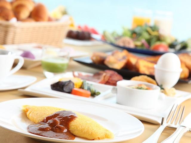 ホテル日航アリビラ 朝食イメージ(洋食バイキング)