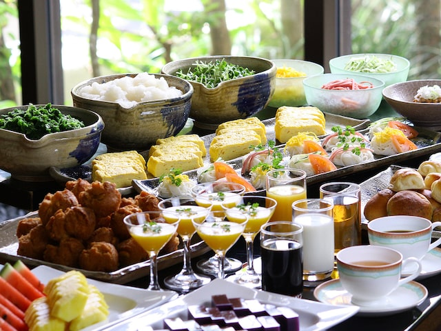 ホテル滞在中朝食付イメージ
