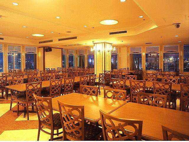 南西観光ホテル レストラン11階サモワール