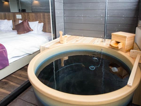 リブマックスリゾート安芸 宮浜温泉 客室露天風呂