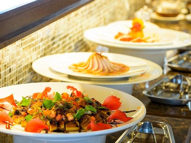 ベストウェスタン沖縄恩納ビーチ 食事一例