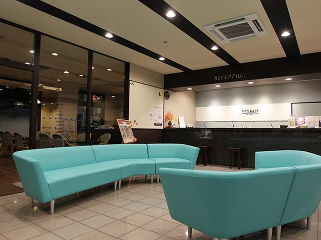 ホテルニューガイア糸島 ロビー