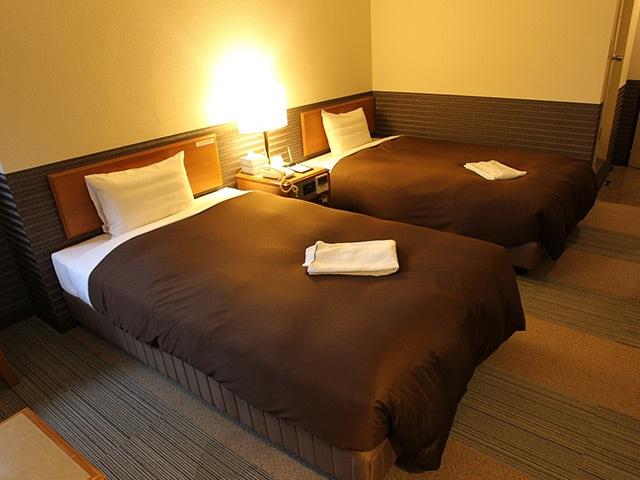 ホテルニューガイア糸島 ツインルーム 21.6㎡