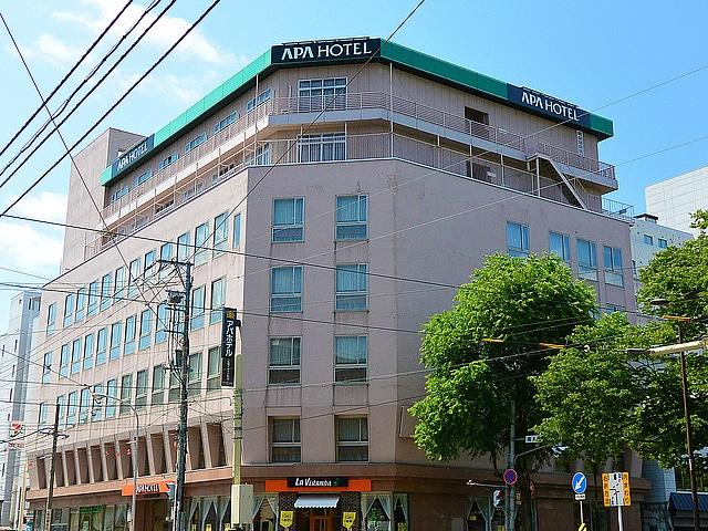 アパホテル札幌すすきの駅西 外観