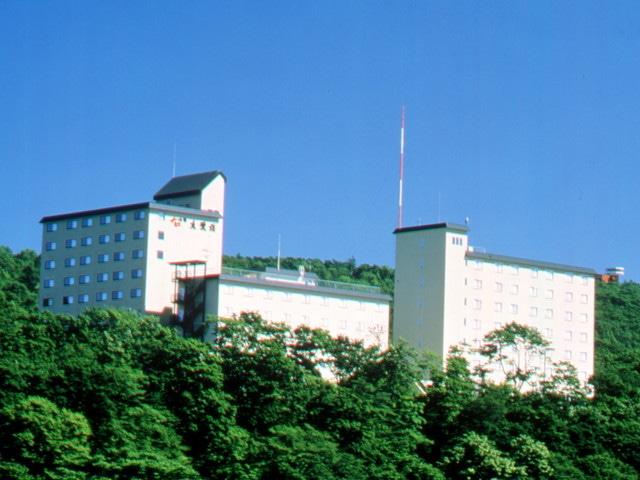 天都の郷 ホテル本陣網走湖 外観