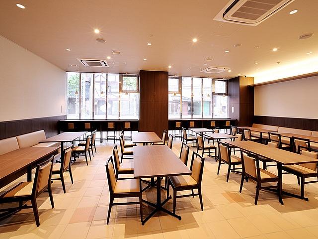 ホテルネッツ札幌 朝食レストラン
