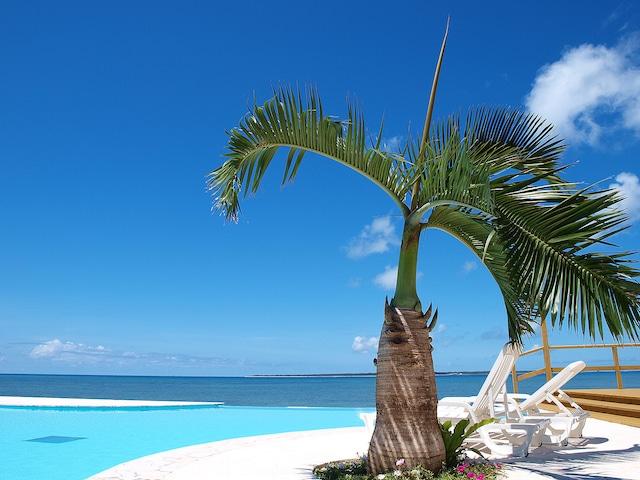 石垣島ビーチホテルサンシャイン プールサイド