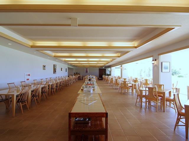 石垣島ビーチホテルサンシャイン 朝食会場