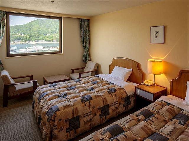 小豆島温泉 オーキドホテル ツインルーム 22㎡